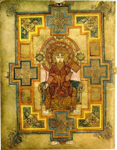 Portrait of St. John from the Book of Kells